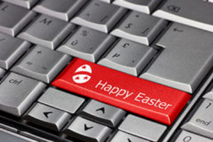 happyeasterkeyboard
