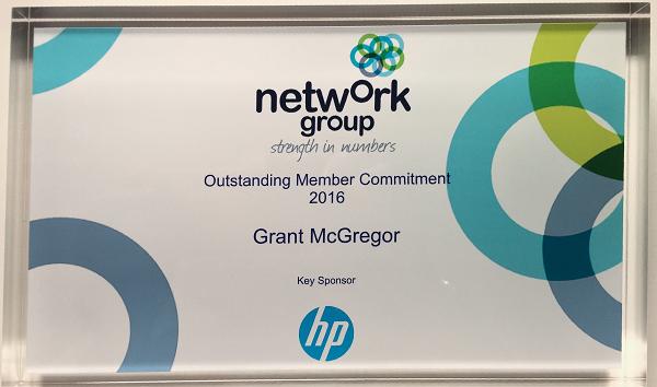 network group award photo png